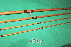 13'-0 Sharps Spliced Impregnated Salmon fly fishing rod with splice protectors