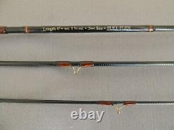 6ft Orvis Superfine Touch #2 Full Flex Trout Fly Fishing Rod + Makers Bag & Tube