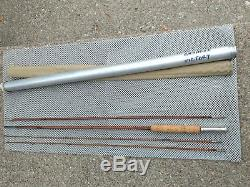 Antique Wright Mcgill Granger Victory Bamboo Fly Fishing Rod 3-piece X-top USA