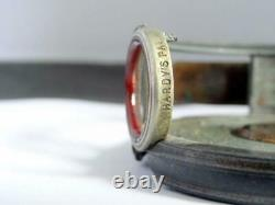 BRASS FACE HARDY'S PAT PERFECT REEL FLY FISHING ROD IN HAND TURKS HEAD Ca 1900