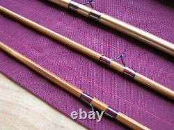 Bamboo Fly Rod 7-1/2' 3 section. 2 Tips 5-6 Wt
