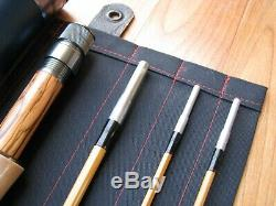 Bamboo Fly Rod 7-1/2' 3 section. 2 Tips 5 Wt