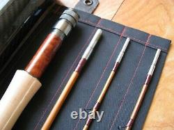Bamboo Fly Rod 7' 3 section. 2 Tips 4- 5 Wt