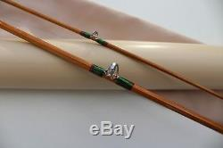 CANNE Pêche MOUCHE bambou refendu fly rod fishing bamboo split cane canna mosca