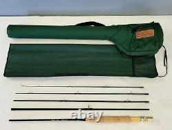 EXC Cabela's Stowaway Fly Rod Length 8'6 3 wt. Travel 5pc WithSock & Case