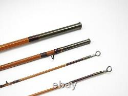 Edwards-Built Beans #1199 Dry Fly Bamboo Rod. 8 1/2. See Description