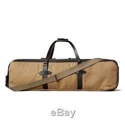Filson Rugged Twill & Leather Fly Fishing Rod Case Made In USA