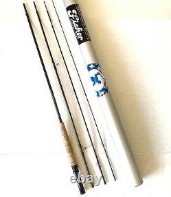 Fisher Original Graphite Fly Fishing Rod. 9' 4/5 Wt. 4-Piece. With Tube
