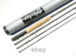 Fisher Original Graphite Fly Fishing Rod. 9' 5-6wt. 4-Piece. With Tube and Sock