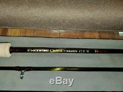 G Loomis CrossCurrent GLX Saltwater Fly Rod FR1087-4 9'0 7wt 4pc