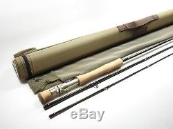 G. Loomis Crosscurrent Fly Fishing Rod. 9' 9wt. With Tube and Sock