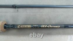 G Loomis Distance GLX 10 #7 3-piece fly fishing rod with branded hard case