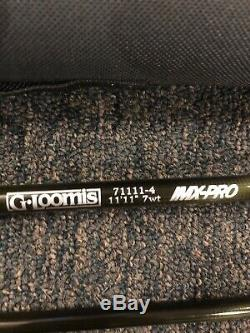 G Loomis IMX-PRO 71111-4 Short Spey Fly Rod 11'11 7wt 4pc. Very Lightly Used