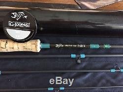G Loomis NRX 1087-4 fly fishing rod 7 weight 9 foot 4 piece Blue