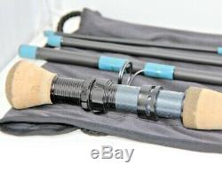 G Loomis NRX 9' 10 Weight Fly Rod 4 Pc Blue Saltwater 1090-4 New