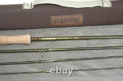 G Loomis NativeRun GLX 10'6 4 piece graphite fly rod #6 with bag and tube
