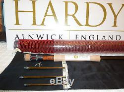 HARDY ARTISAN 9' 6 (9ft 6in 7wt) #7 FLY FISHING TROUT ROD BRAND NEW