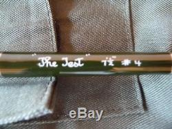 HARDY GLASS THE TEST 7'6 #4 2pce FLY FISHING ROD