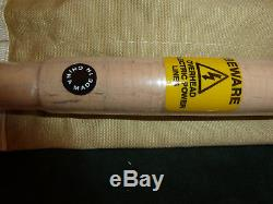 HARDY LRH LIGHTWEIGHT 8½ #4 4pce FLY FISHING ROD NEW WITH STOPPERS