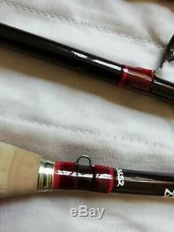 HARDY SMUGGLER DELUXE CLASSIC 8' 2.5 #5 FLY FISHING ROD 250cm GRAPHITE MINT EXC