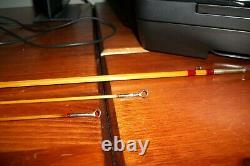 H. L. Leonard 2 piece 7ft 2wt bamboo fly rod with 2 tips sock and aluminum tube