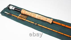Hardy 8'6 #6 The Perfection Split Cane Fly Fishing Rod