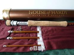 Hardy Angel 9' 6 #7 Fly Fishing Trout Rod Immaculate Condition