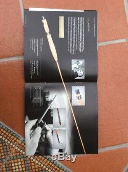 Hardy Bros Gladstone Flame Finished Tonkin Bamboo Fly Fishing Rod. 8ft, 2pc/1t