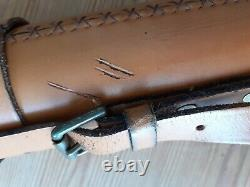 Hardy Graphite Smuggler De-Luxe 8ft 2-1/2 7 section fly rod Hardy leather tube