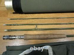 Hardy Marksman 10ft #5 Trout Fly 4pce Fishing Rod + Bag + Padded Tube Superb