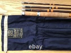 Hardy Smuggler 8ft #6 Trout Fly 4pce Fishing Rod Excellent Condition