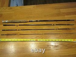 Hardy Smuggler 8ft Trout Fly 4pce Fishing Rod Excellent Condition