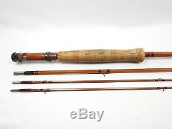 Heddon Bill Stanley Favorite Bamboo Fly Fishing Rod. #20 8 1/2. See Description