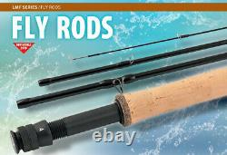 Loomis and Franklin French leader and nymph fly rods 9ft to 12 ft