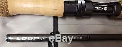 Loop Tackle Cross ST Double Handed Fly Fishing Rod 13' 2 #8 Medium Fast 6pc