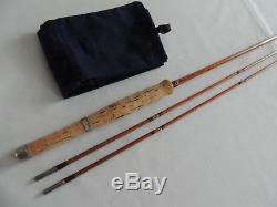 Marcus Warwick 8'3 The Wharfe #6 Two Piece Spare Top Split Cane Fly Fishing Rod
