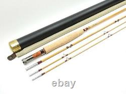 Mike Pahl Copper John Bamboo Fly Fishing Rod. 7 1/2' 5wt. With Tube and Sock