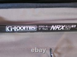 NEW G. LOOMIS NRX+ PLUS S SALTWATER 990-4 9' #9 WEIGHT 4 PC. FLY ROD GLoomis