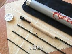 NEW Scott Radian R905 9ft 5wt 4pc fly fishing rod withtube (use with5wt line reel)