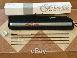 NEW Scott Radian R906 9ft 6wt 4pc fly fishing rod withtube (use with6wt line reel)