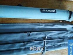 New GUIDELINE LPXE 13FT 3 PIECE 8 /9 FLY FISHING ROD RRP £520