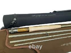 Olde Fly Shop Transparent Fiberglass Fly Rod 4pc 3wt With Carrying Case