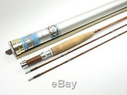 Orvis Battenkill Impregnated Bamboo Fly Rod. 7' 6wt. 3 3/8oz. With Tube and Sock