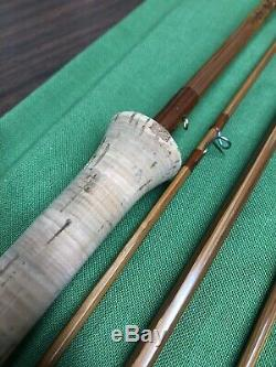 Orvis Battenkill Rocky Mountain 6 1/2', 3 1/8 oz Bamboo Fly Spin 2 Tip Leather