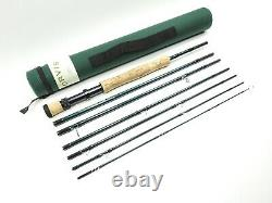 Orvis Frequent Flyer Fly Rod. 9' 8wt. 7-Pieces. Tip-Flex. With Tube