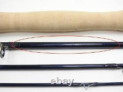 Orvis Helios 2 II Fly Fishing Rod. 9' 6wt Tip-Flex. With Tube and Sock