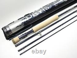 Orvis Helios 2 II Fly Fishing Rod. 9' 8wt Tip-Flex. With Tube and Sock