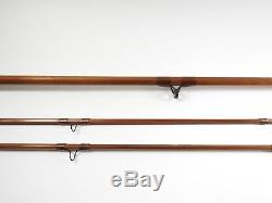 Orvis Impregnated Battenkill Bamboo Fly Fishing Rod. 8'. With Tube and Sock