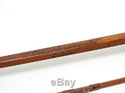 Orvis Impregnated Deluxe Bamboo Fly Fishing Rod. 7' 6wt. See Description
