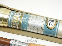 Orvis Madison Impregnated Bamboo Fly Fishing Rod. 8'. With Tube and Sock